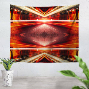 Photo Mirror Tapestry