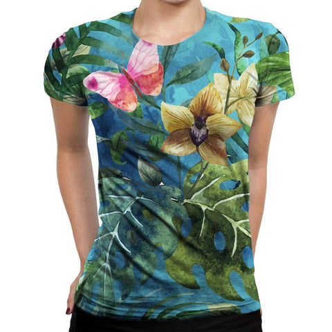Image of Butterfly Womens T-Shirt