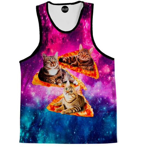 Cat Pizza Tank Top