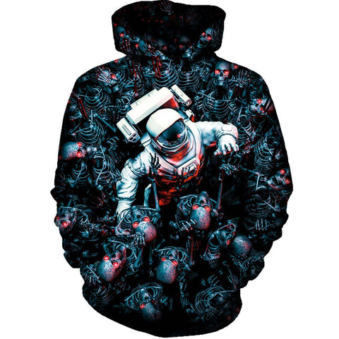 Image of Planet Of Terror Womens Hoodie
