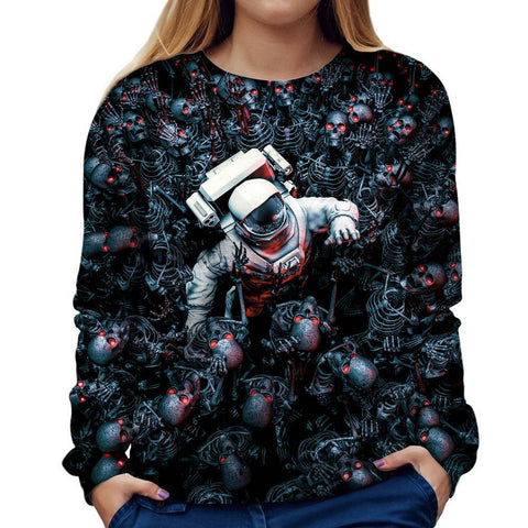 Image of Astronaut Womens Sweatshirt