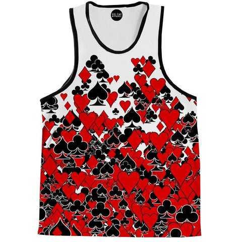 Deck Of Cards Tank Top