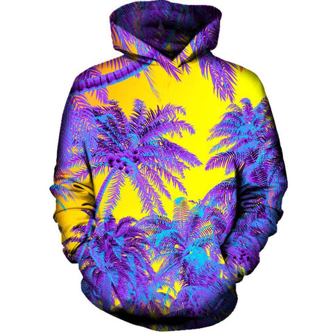 Polychrome Jungle Womens Hoodie