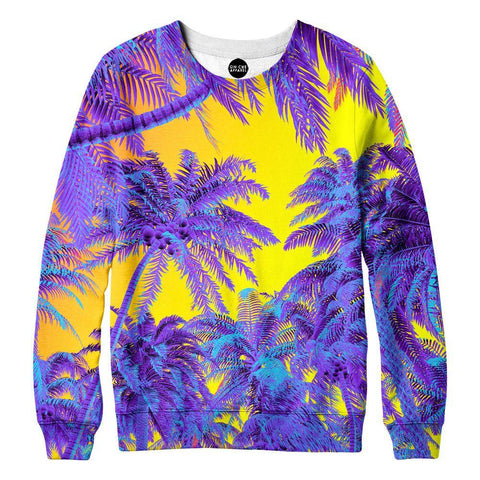 Polychrome Jungle Womens Sweatshirt