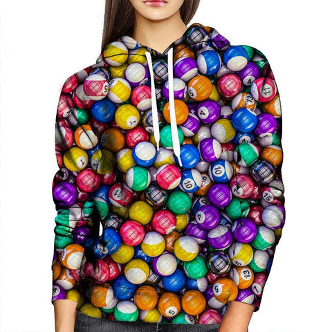 Image of Pool Junkies Womens Hoodie