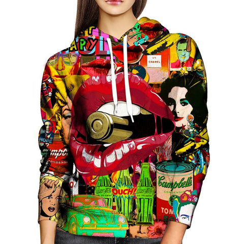Image of Pop Art Womens Hoodie