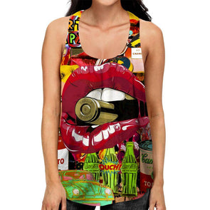 Pop Art Racerback