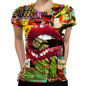 Pop Art Womens T-Shirt