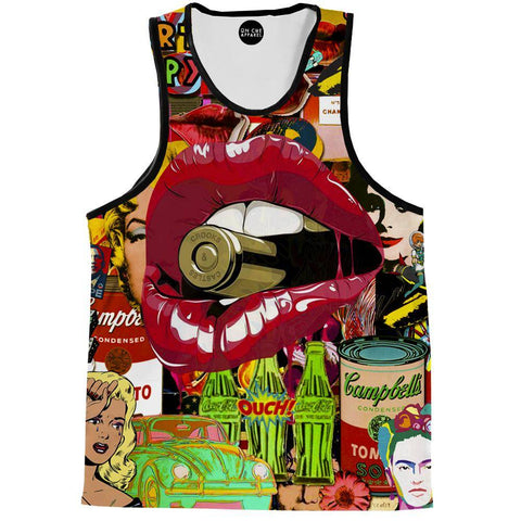 Pop Art Therapy Tank Top