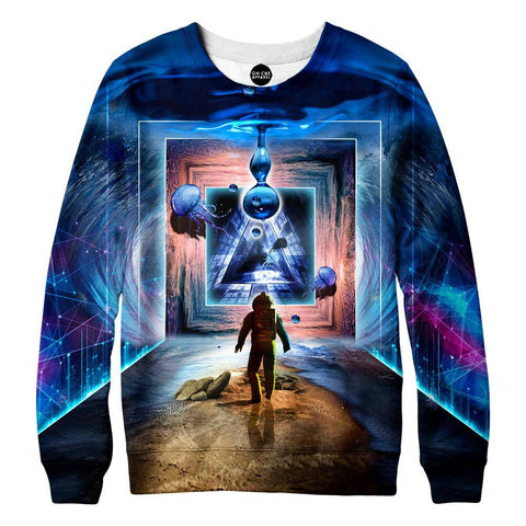 Image of Astronaut Portal To The Beyond Womens Sweatshirt