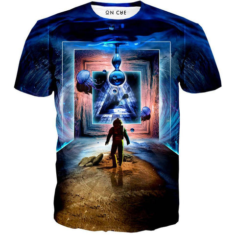 Image of Astronaut Portal To The Beyond T-Shirt