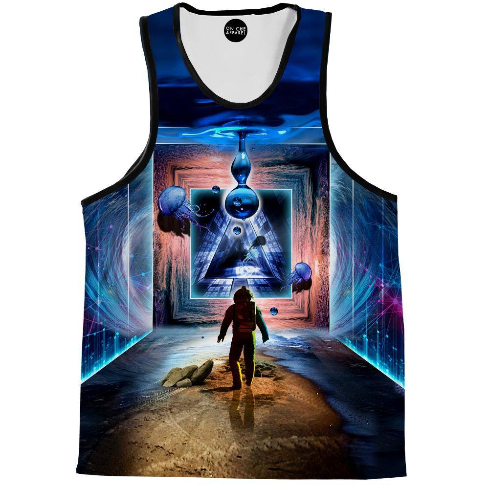 Astronaut Portal To The Beyond Tank Top