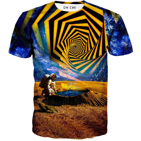 Astronaut Yellow Portal T-Shirt