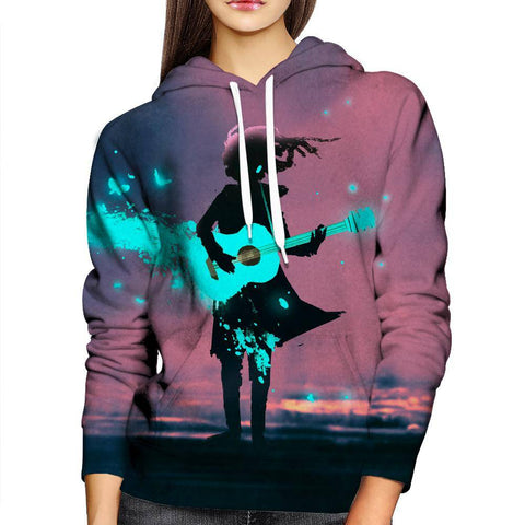 Image of Power Of Music Womens Hoodie