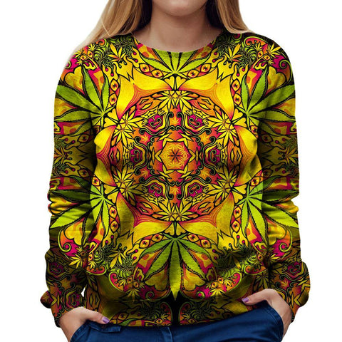 Image of Weed Woman Sweatshirt