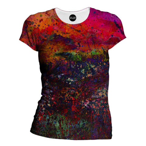 Purple Sky Womens T-Shirt