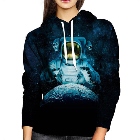 Image of Astronaut Womens Hoodie