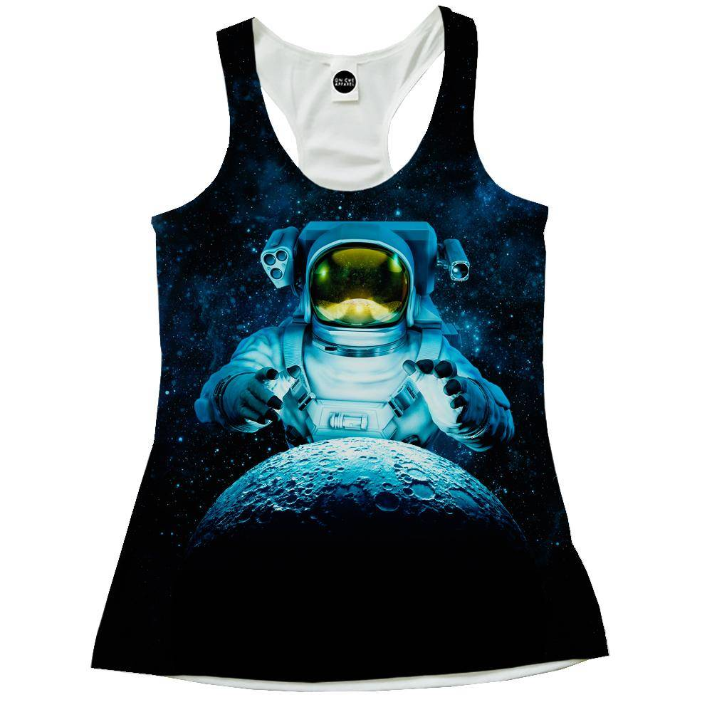 Reach For The Moon Racerback