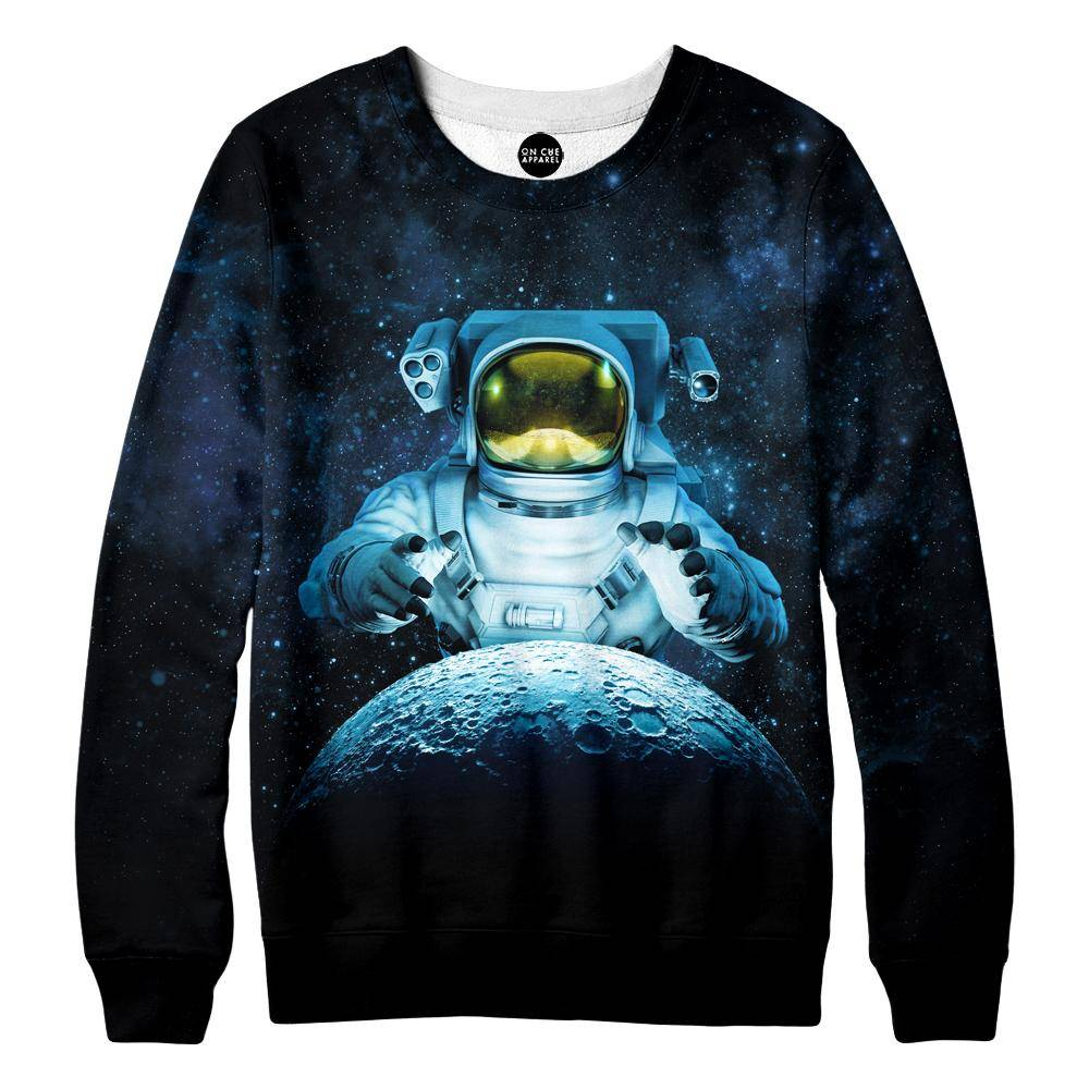 Reach For The Moon Womens Sweatshirt