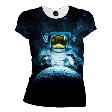 Reach For The Moon Womens T-Shirt