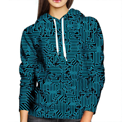 Technology Womens Hoodie