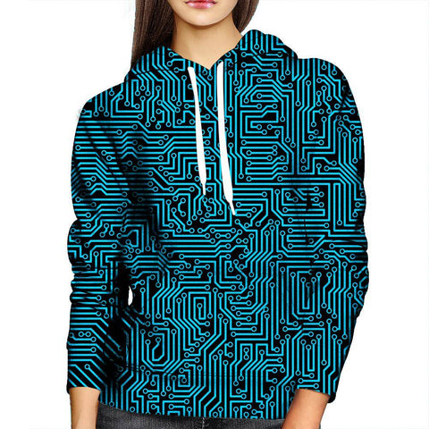 Image of Technology Womens Hoodie