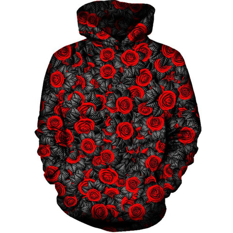 Image of Red Rose Hoodie