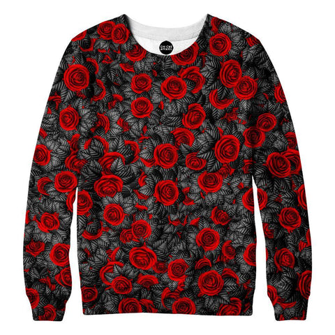 Image of Red Rose Sweatshirt