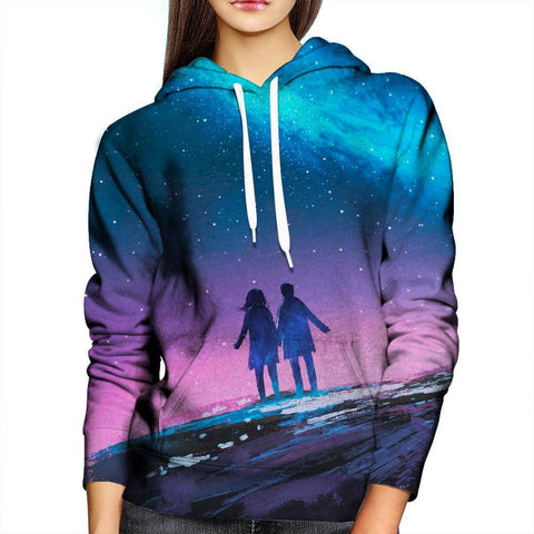 Image of Galaxy Womens Hoodie