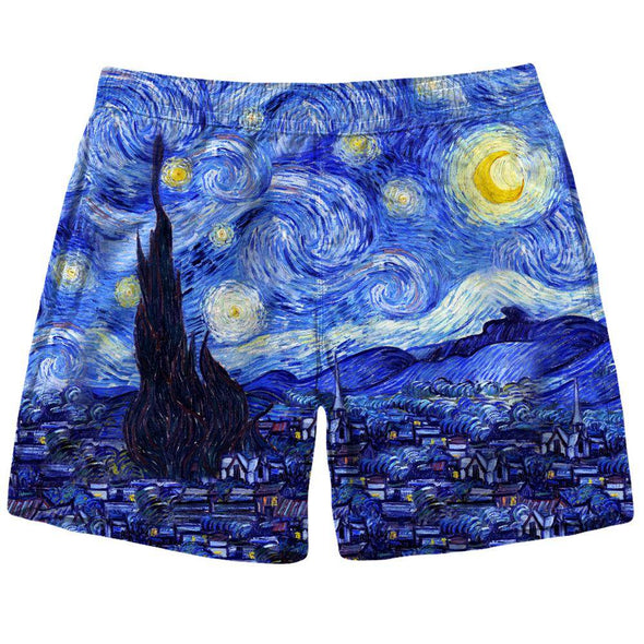 Starry Night Shorts