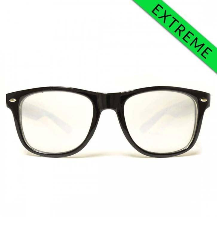 GloFX Ultimate EXTREME Diffraction Glasses – Black