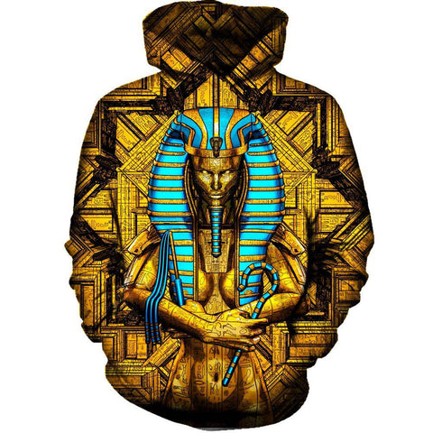 Image of Sacred Queen Pharaoh Womens Hoodie