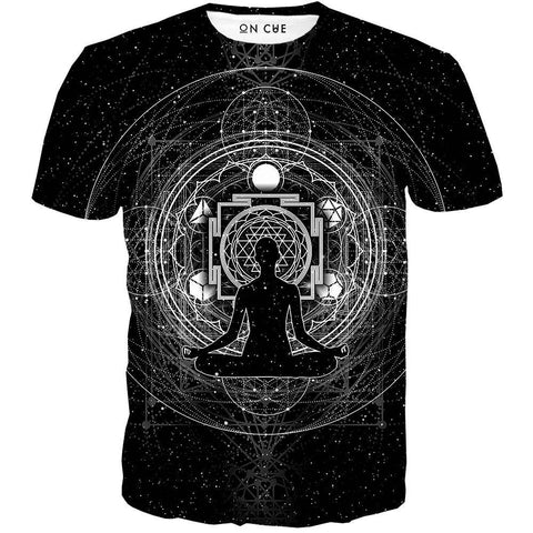 Image of sacred sri yanta t-shirt