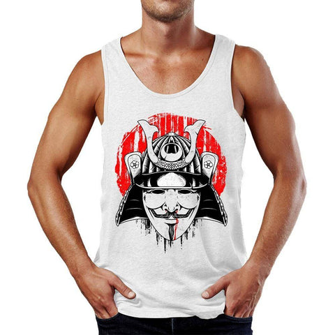 The Anonymous Samurai Tank Top