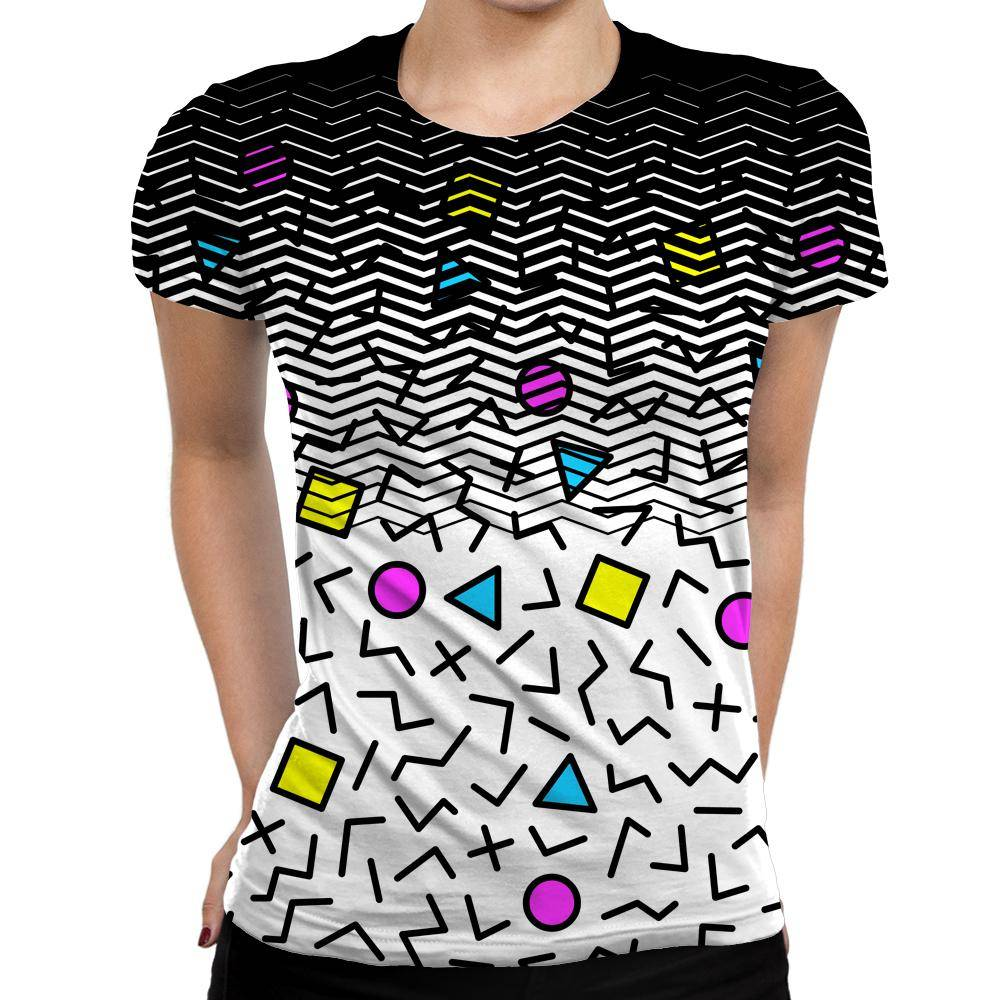 Shapes Womens T-Shirt