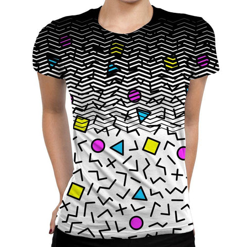 Image of Shapes Womens T-Shirt