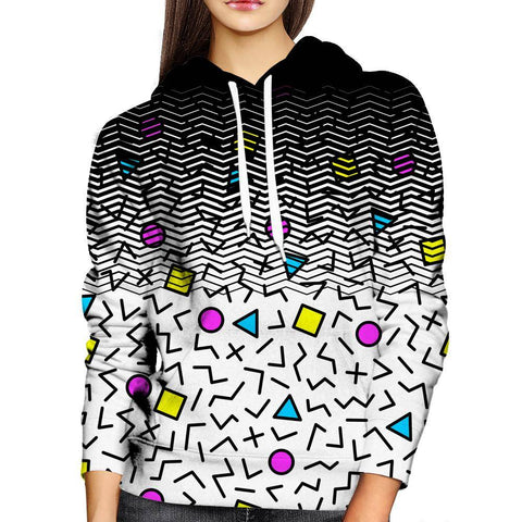Image of Shapes womens Hoodie