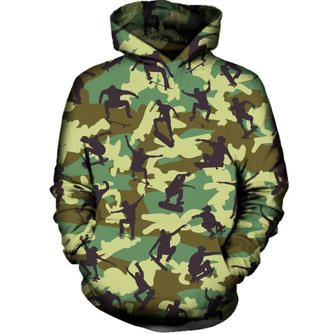 Image of Skater Camo Hoodie