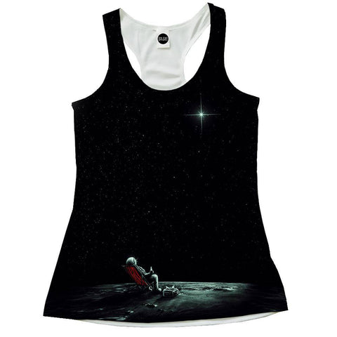 Space Chill Racerback