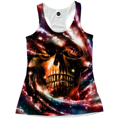 Image of Space Skull 2 Racerback