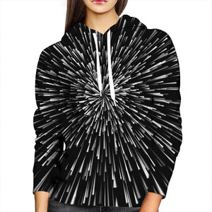 Speed Of Light Womens Hoodie