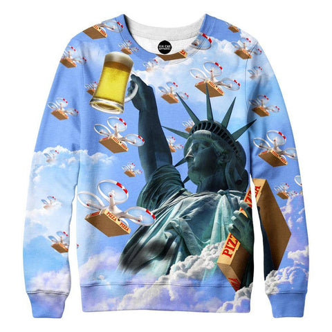 Statue Of Merica Sweatshirt