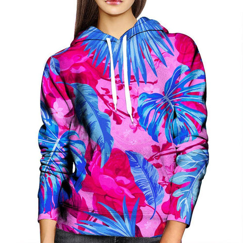Image of Palm Trees Womens Hoodie