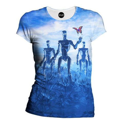 Tech Meets Nature Womens T-Shirt