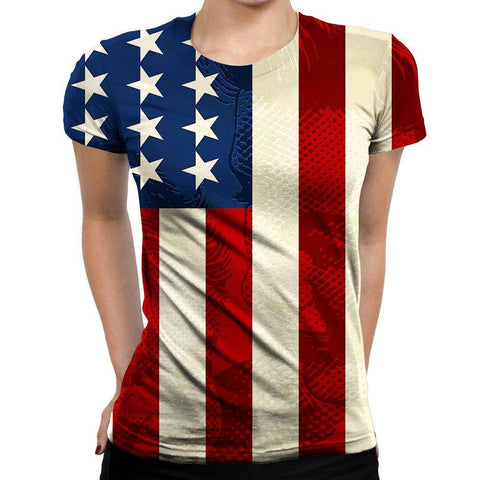 USA Womens T-Shirt