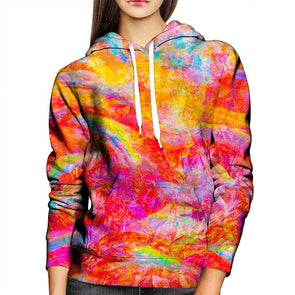 Abstract Womens Hoodie