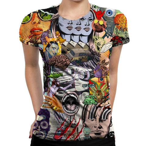 Psychedelic Woman T-shirt