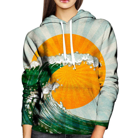 Image of Wave Womens Hoodie