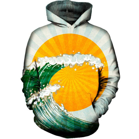 The Wave Womens Hoodie