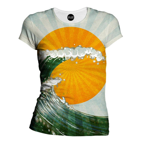 The Wave Womens T-Shirt